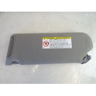 02 Toyota Sequoia sunvisor, right, gray 74310-0C010