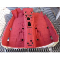 Mercedes R230 SL500 SL55 carpet, interior, floor, red 2306800140 SL600 SL65