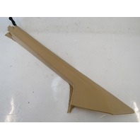 98 Lotus Esprit V8 trim, interior a-pillar, left, tan A082967J