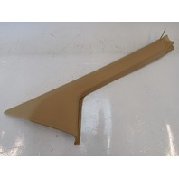 98 Lotus Esprit V8 trim, interior a-pillar, right, tan A082969J