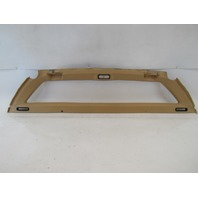 98 Lotus Esprit V8 trim, rear bulkhead window surround A082V8978J leather tan