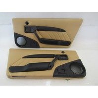 98 Lotus Esprit V8 door panel set, tan, leather
