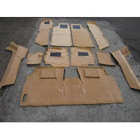 98 Lotus Esprit V8 carpet set, interior, tan