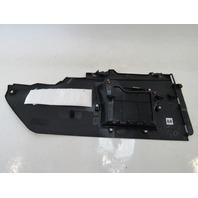 18 Lexus RX450hL trim, center console extension panel, right 58817-48091 black