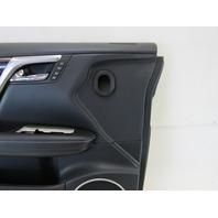 18 Lexus RX450hL RX350 L door panel, left front, black
