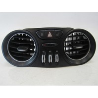 03 Mercedes R230 SL500 SL55 ac vent, dash, center, black, 2308300054 SL500 SL600 SL65