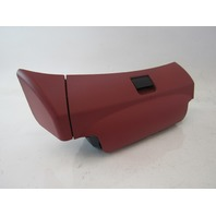 03 Mercedes R230 SL500 SL55 seat storage compartment, left seat, 2309100418 red