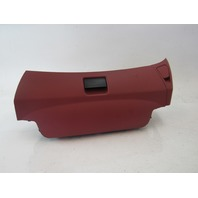 03 Mercedes R230 SL500 SL55 seat storage compartment, right seat, 2309100418 red