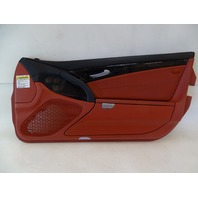 03 Mercedes R230 SL500 SL55 door panel, right, red/black