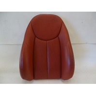 03 Mercedes R230 SL500 SL600 seat cushion, back, right, red