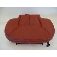03 Mercedes R230 SL500 SL600 seat cushion, bottom, right, red