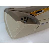 03 Mercedes R230 SL500 SL55 door panel, right, beige