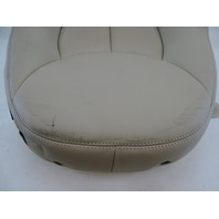 03 Mercedes R230 SL500 seat cushion, back, left, beige