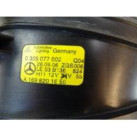 07 Mercedes R230 SL550 lamp, foglight, right 1698201656