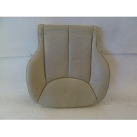 07 Mercedes R230 SL550 seat cushion, bottom, left, beige
