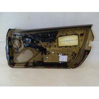 07 Mercedes R230 SL550 SL500 door panel, left, beige