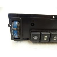 87 Mercedes W126 560SEC switch, AC heater climate control