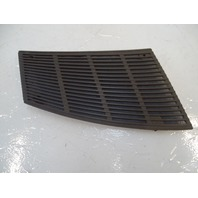 87 Mercedes W126 560SEC trim, dash speaker grille cover 1266806739 brown
