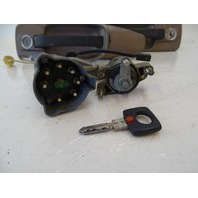 87 Mercedes W126 560SEC lock, ignition switch, w/key and door handles