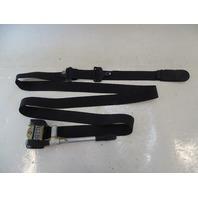 87 Mercedes W126 560SEC seat belt, left front, black 1268606886