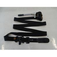87 Mercedes W126 560SEC seat belt, right front, black 1268606886