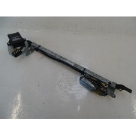 87 Mercedes W126 560SEC seat belt extender and motor, left 0008600882