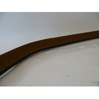 87 Mercedes W126 560SEC seal, door weatherstrip, right, brown 1267200254