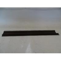 87 Mercedes W126 560SEC trim, door step sill, left, brown