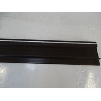 87 Mercedes W126 560SEC trim, door step sill, right, brown
