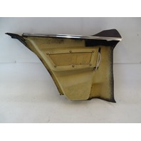 87 Mercedes W126 560SEC trim, interior quarter panel, right, brown