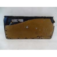 87 Mercedes W126 560SEC door panel, left, brown 1267270770