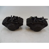 87 Mercedes W126 560SEC brake calipers, front, left and right, bendix