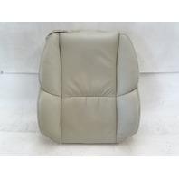 02 Lexus SC430 seat cushion, back, right, ecru