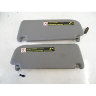 07 Audi D3 A8 sun visors, left and right, gray