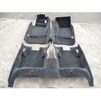 07 Audi D3 A8 carpet set, floor, black 4e1863709 4e1863710 4e1863021