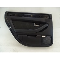 07 Audi D3 A8 door panel, left rear, black