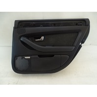 07 Audi D3 A8 door panel, right rear, black