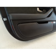 07 Audi D3 A8 door panel, left front, black