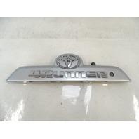 18 Toyota 4Runner trim, liftgate handle panel 76811-35320