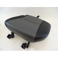 18 Toyota 4Runner seat cushion, bottom, left rear, gray/black softex