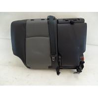 18 Toyota 4Runner seat cushion, back, right rear, gray/black softex