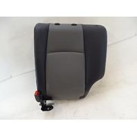 18 Toyota 4Runner seat cushion, back, left rear, gray/black softex