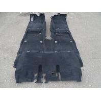 18 Toyota 4Runner carpet, floor, main 58510-35a00 black