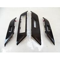 13 Lexus RX350 trim set, door switches wood bezel covers, 74232-48080