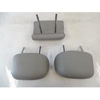 13 Lexus RX350 headrest set, rear seats, light gray