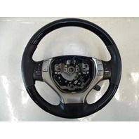 13 Lexus RX350 steering wheel, leather and wood w/ control switches, oem