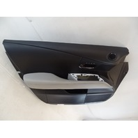 13 Lexus RX350 door panel, interior, light gray/black, left front