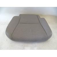 13 Lexus RX350 seat cushion, bottom, right rear, light gray