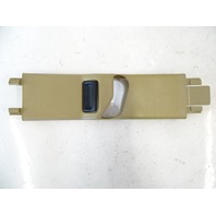 90 Mercedes W126 560SEL 420SEL trim, seat belt guide cover, right front 1246920222