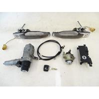 90 Mercedes W126 560SEL 420SEL lock set, ignition switch, door, w/key